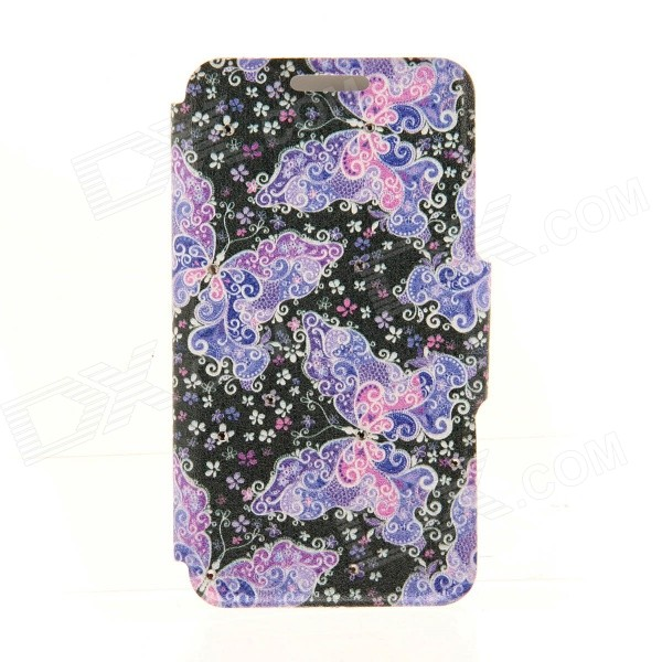 Kinston Lace Butterfly Diamond Paste Pattern PU Leather Full Body Case Cover Stand for IPHONE 6 Plus kinston pink lotus diamond paste pattern pu leather full body case cover stand for iphone 6 plus