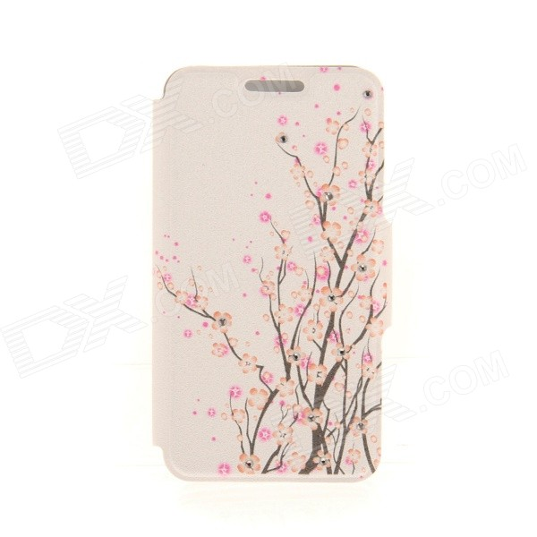 Kinston Wind Flower Diamond Paste Pattern PU Leather Full Body Case Cover Stand for IPHONE 6 Plus kinston pink lotus diamond paste pattern pu leather full body case cover stand for iphone 6 plus