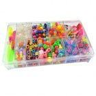 DIY Various Style Beads Woven Bracelet Accessories Set for Kids - Multicolored