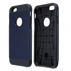 "AL01 Slim Protective PC + Silicone Back Case for IPHONE 6 4.7"" - Navy Blue"
