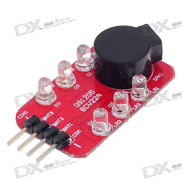 11.1V Battery Alarm Buzzer for RC Helicopter