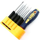 Precision Magnetic Screw Drivers 8-Piece Set with Stand