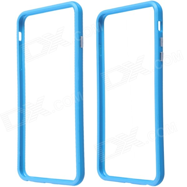 AL01 Protective Plastic Bumper Frame for IPHONE 6 Plus 5.5 - Blue protective plastic bumper frame for iphone 6 plus red
