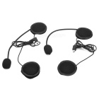 BT Interphone + Handsfree Bluetooth for Motorcycle and Skiing Helmet (2-Piece Set)