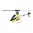Hisky HFP100 V2 2.4GHz 6-CH 3-Axis R/C Helicopter w/ Gyro -Yellow + Black + White