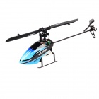 Hisky HCP80 2.4GHz 6-CH 3-Axis R/C Helicopter w/ Gyro - Light Blue + Black