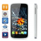 """AWANG T45 MTK6572 Dual-core Android 4.2.2 GSM Phone w/ 4.5"""" Screen, Quad-band, FM, Wi-Fi - White"""