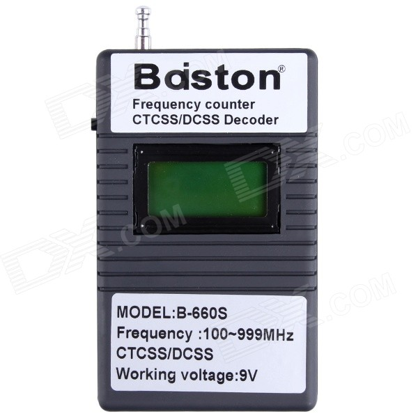 Professional Baiston B-660S 1.3'' Handhold Digital 100-999MHz Frequency Counter CTCSS/DCSS Decoder r b parker s the devil wins