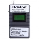 Professional Baiston B-660S 1.3'' Handhold Digital 100-999MHz Frequency Counter CTCSS/DCSS Decoder