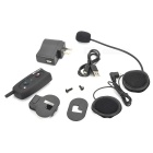 BT Interphone + Handsfree Bluetooth for Motorcycle and Skiing Helmet (7-Hour Talk/100-Hour Standby)