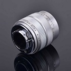 35mm F1.7 CCTV Lens + Macro Rings + C-NEX Adapter Ring Set for Sony NEX-5C NEX-7 - Silver
