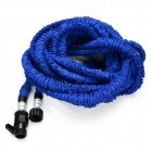 US Standard 100ft Home Garden Flexible Natural Latex Water Pipe - Blue