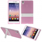 Buy Hat-Prince Protective TPU Case Stand Huawei Ascend P7 - Pink