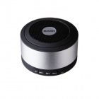 BASN D101 Mini Portable Bluetooth V3.0 + EDR Speaker with Microphone - Silver