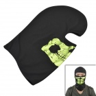 Reflective CS Head Tactical Masks - Black + Green