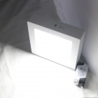 KINFIRE Surface Mounted LED 12W 980lm Cold White Frosted Square Ceiling Panel Light (AC85-265V)