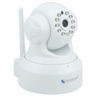 "VStarcam T6836WTP 1/4"" CMOS 0.3 MP PTZ Wireless Network IP Camera w/ 10-IR-LED / Wi-Fi / TF - White"