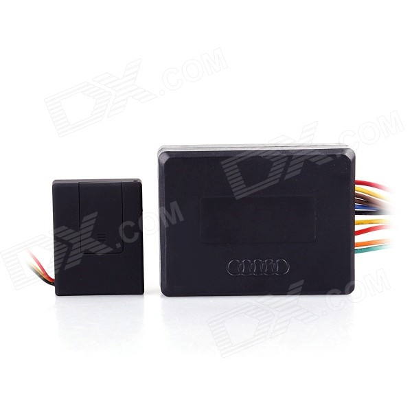 V12 GSM Car Alarm Positioning Alarm System - Black