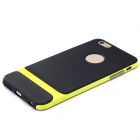 "ROCHA RK-ip6P Royce Series PC + TPU Protective Case Voltar para o iPhone 6 Plus 5.5 ""- a grama verde + Preto"