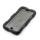 "PC-268B Shockproof Fallproof Dustproof Protective Silicone Case Stand for IPHONE 6 4.7"" - Black"