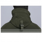 TAD N-116 Men's Waterproof Windproof Polyester + Spandex Outdoor Jacket - Army Green (Size XL)