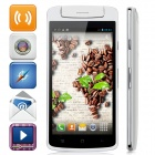 "N1 Mini M6572A Quad-Core Android 4.2.2 WCDMA Bar Phone w/ 5.0"" IPS, 4GB ROM, GPS, Dual-Camera -White"