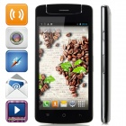 "N1 Mini M6572A Quad-Core Android 4.2.2 WCDMA Bar Phone w/ 5.0"" IPS, 4GB ROM, GPS, Dual-Camera -Black"