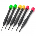 Precision Screw Drivers 6-Piece Set with Stand