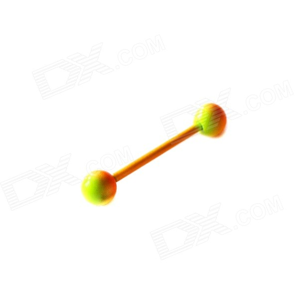 ME-012 Multi-Purpose Ring / Earrings / Ear Bone Nail / Tongue Stud - Orange + Yellow