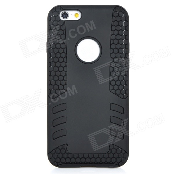 2-in-1 Protective TPU Back Case Cover for IPHONE 6 - Black