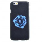 Protective PC Back Case Cover for IPHONE 6 - Black + Blue