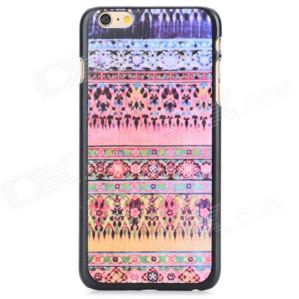Tribal Ethnic Style Protective PC Back Case for IPHONE 6 PLUS - Pink + Multi-Color