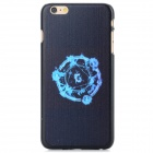 Protective PC Back Case for IPHONE 6 PLUS - Black + Blue