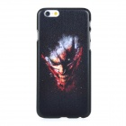 Monster Pattern Protective PC Back Case Cover for IPHONE 6 - Black + Multi-colored