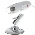 BW908C 1.3M Pixel 200X Zooming Digital USB Microscope Camera with 8-LED Illumination