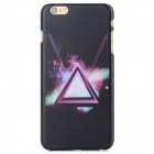 Star Sky Pattern Protective PC Back Case for IPHONE 6 - Black + Blue + Multi-Color
