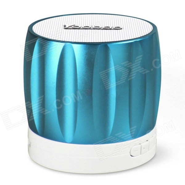 YOOBAO YBL-202 Portable Wireless Bluetooth V3.0 Speaker w/ TF / FM Radio / Micro USB - Blue portable professional 2 4g wireless voice amplifier megaphone booster amplifier speaker wireless microphone fm radio mp3 playing