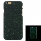 Star Sky Ultra-thin Protective PC Back Case for IPHONE 6 - Green + Black