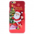 Santa Clausm Protective PC Back Case for IPHONE 6 - Red + Multi-Color