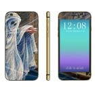 """Stylish Ghost Pattern Front + Back Decorative Stickers Set for IPHONE 6 4.7"""""""
