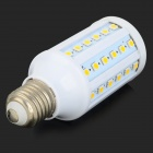 GY-60 E27 8W 780lm 2700K 60-SMD 5050 LED Warm White Corn Lamp - White + Silver (AC 220~240V)