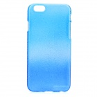 Raindrop Pattern Protective ABS Back Case for IPHONE 6 - Blue