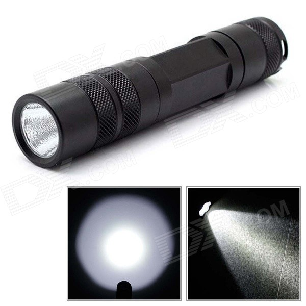 Convoy S5 860lm 2-Group 3/5-Mode White LED Flashlight w/ Cree XM-L2 U2 - Black (1 x 18650)