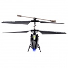 Model King 3.5-Channel 2.4GHz Shatter-proof LED Light Mini R/C Helicopter Kit w/ Gyro - Black