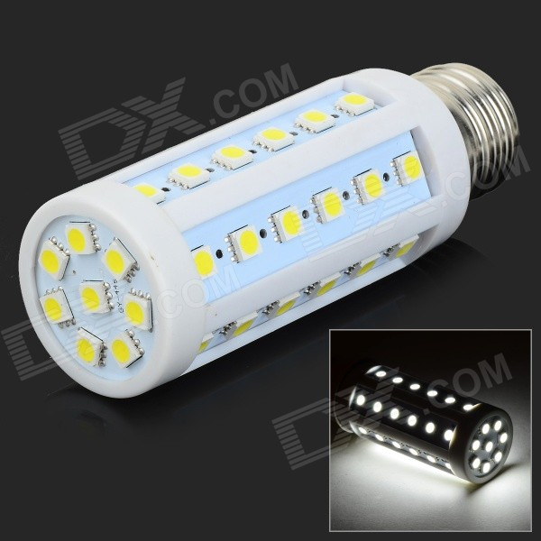 GY-44 E27 6W 580lm 44-SMD 5050 LED Cold White Corn Lamp (AC 220~240V)