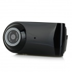 "HD55 Portable 1/3"" CMOS 0.3MP HD Mini Camera w/ 2-IR-LED / Wi-Fi / TF - Black (US Plug)"