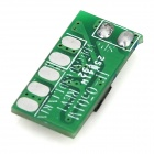 JF0501 DIY 0.5 ~ 3W Mono Channel Amplifier Board - Green (DC 2.7 ~ 5V)