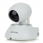 "Camnoopy CN-PT100-A P2P 1/4"" CMOS 1.0MP Home Smart Pan / Tilt IP Camera w/ 2-IR-LED / Wi-Fi - White"