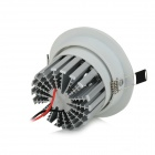 10W 1000lm 6500K COB LED White Light lampe de plafond w / LED Driver - Blanc