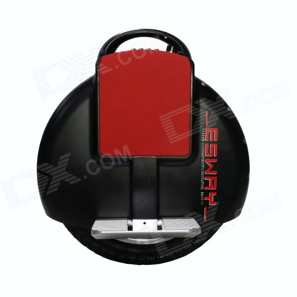 ESWAY ES-E3 Rechargeable Self-Balancing Electric Unicycle / Scooter Bicycle Wheel - Black 2016 hot sale 24v 150w 12km h 120kg 15 17km four wheel electric scooter hoverboard skateboaed